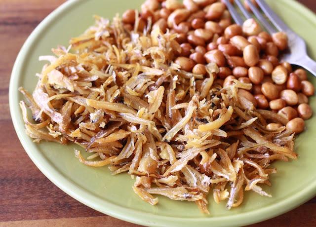 malaysian ikan bilis recipe