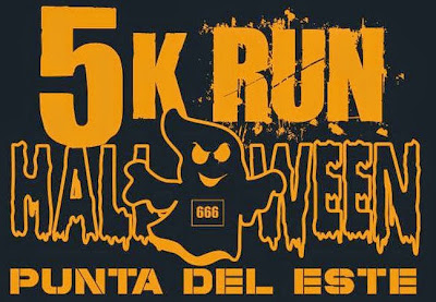 5k run Halloween Punta del Este (31/oct/2014)