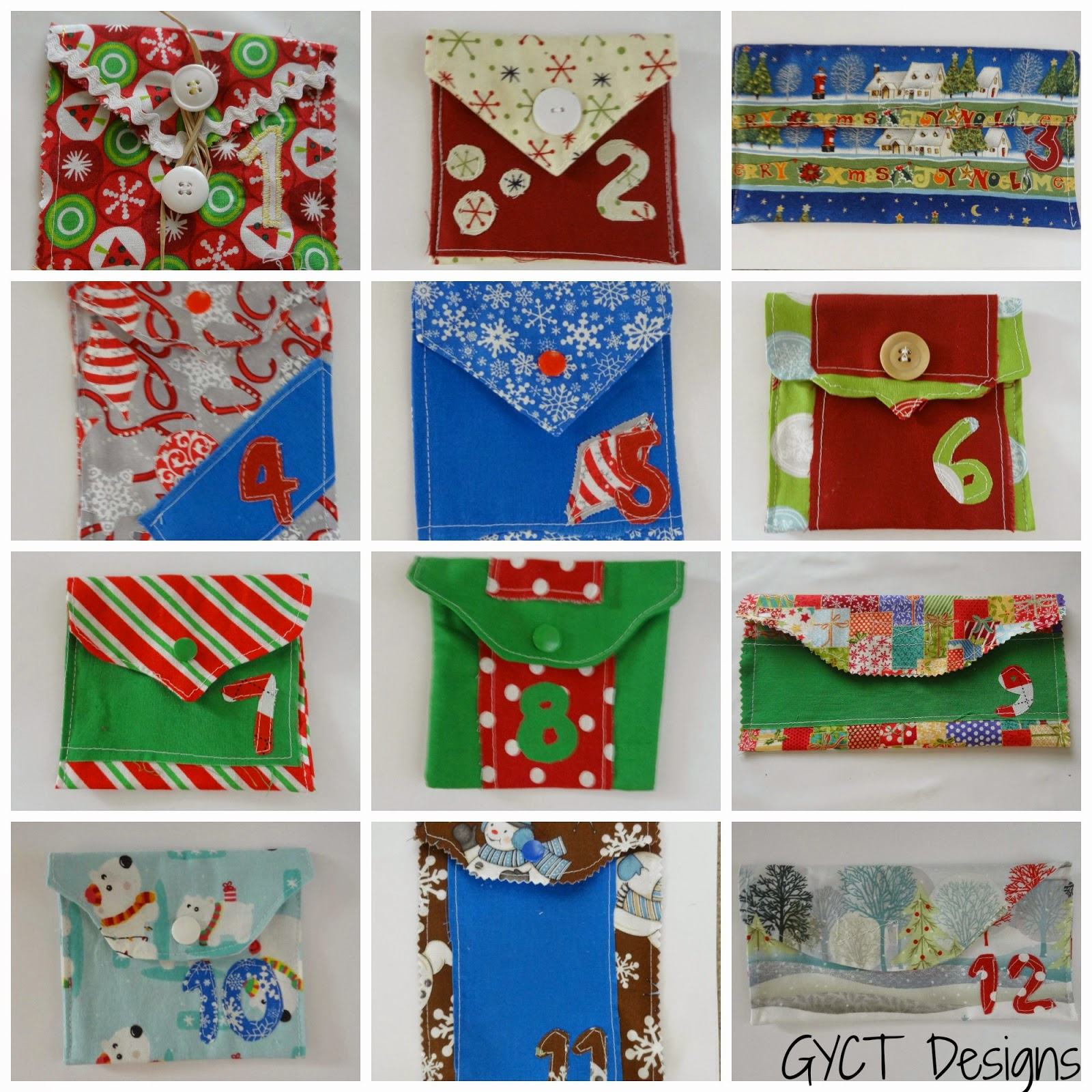 12 Days of Christmas Advent Envelopes Tutorial