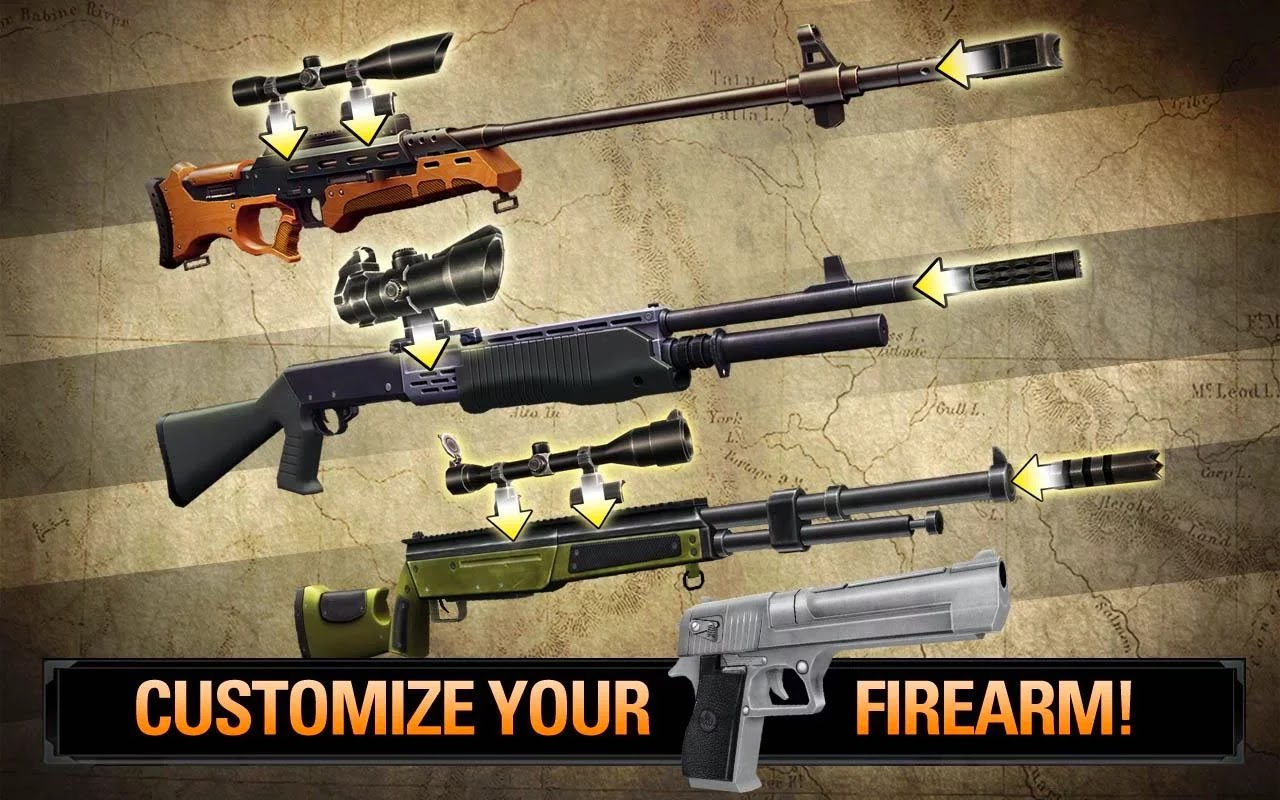 DEER HUNTER 2014 v2.0.0 Mod Apk+Data (Unlimited Money/Glu Gold)