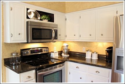 Paint Or Stain your Old Kitchen Cabinets DIY Quick Fix