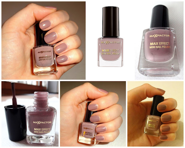 Max Factor Max Effect Mini Nail Polish Cappuccino