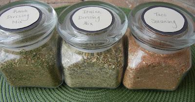 Homemade Ranch Dressing Mix, Italian Seasoning Mix & Taco Seasoning  Spices%2B3