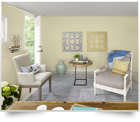 Lemon Sorbet by Benjamin Moore - for fashion or home? | A Color Specialist  in Charlotte