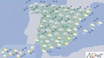 El Tiempo para España