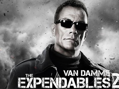 The Expendables 2 powerpoint background 9