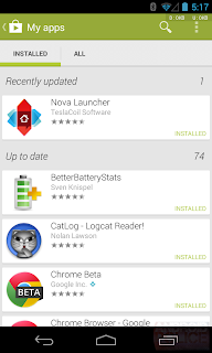 Google Play Store received a new update with some minor adjustments
