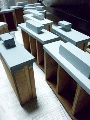 meuble à casier rénové