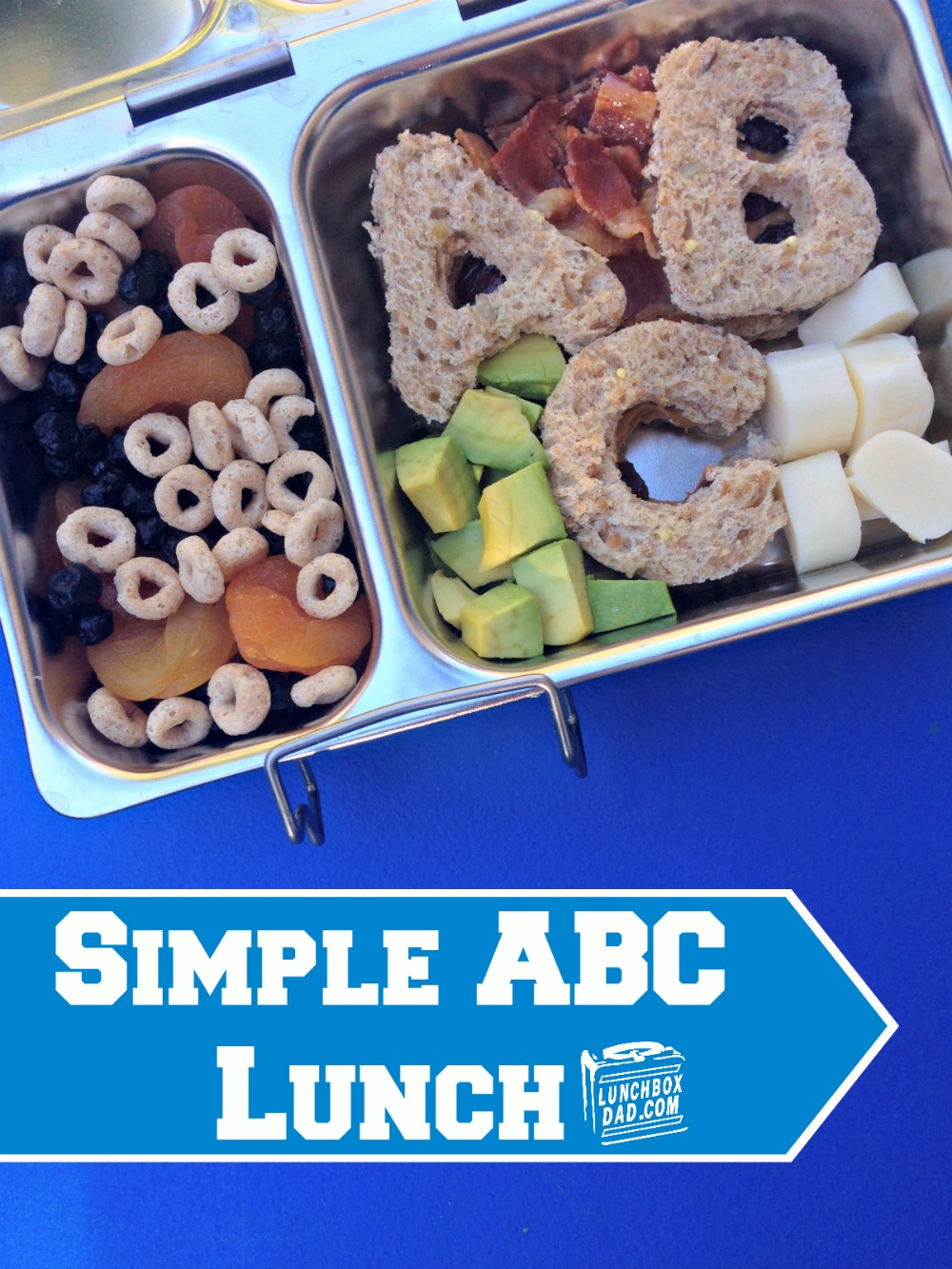 Simple ABC Lunch for Back to School