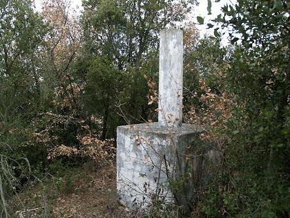 El vèrtex geodèsic del Turó de l'Enclusa