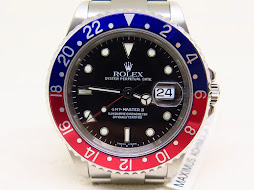 ROLEX GMT MASTER II PEPSI BEZEL - ROLEX 16710 - SERIAL P 2001 - MINTS CONDITION