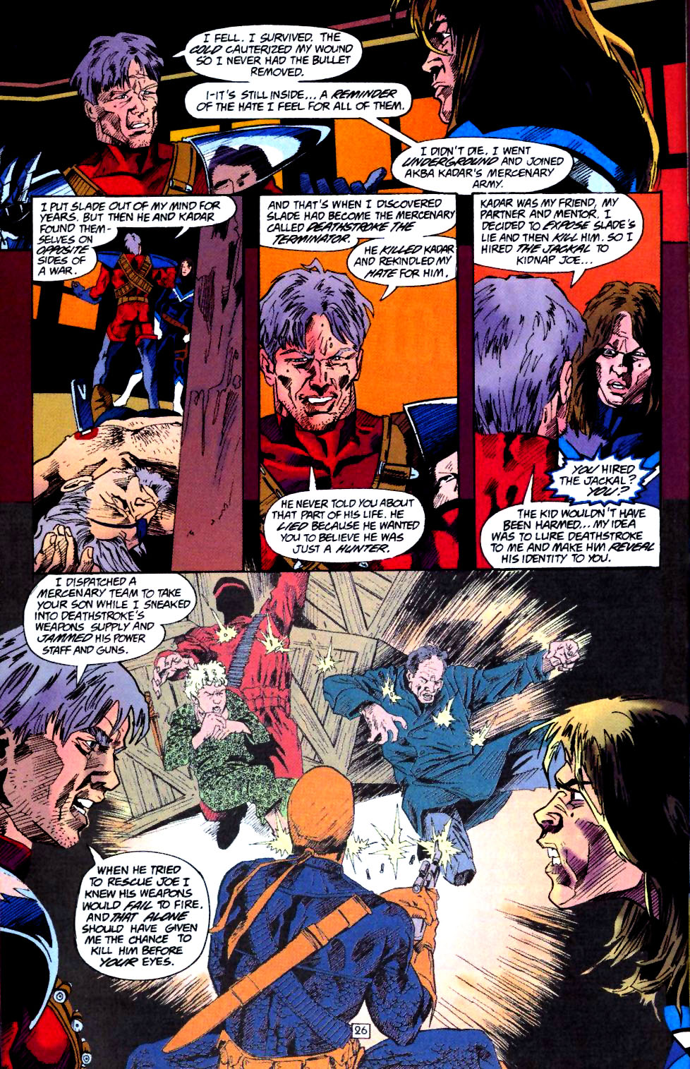 Deathstroke (1991) Annual 4 #4 - English 27