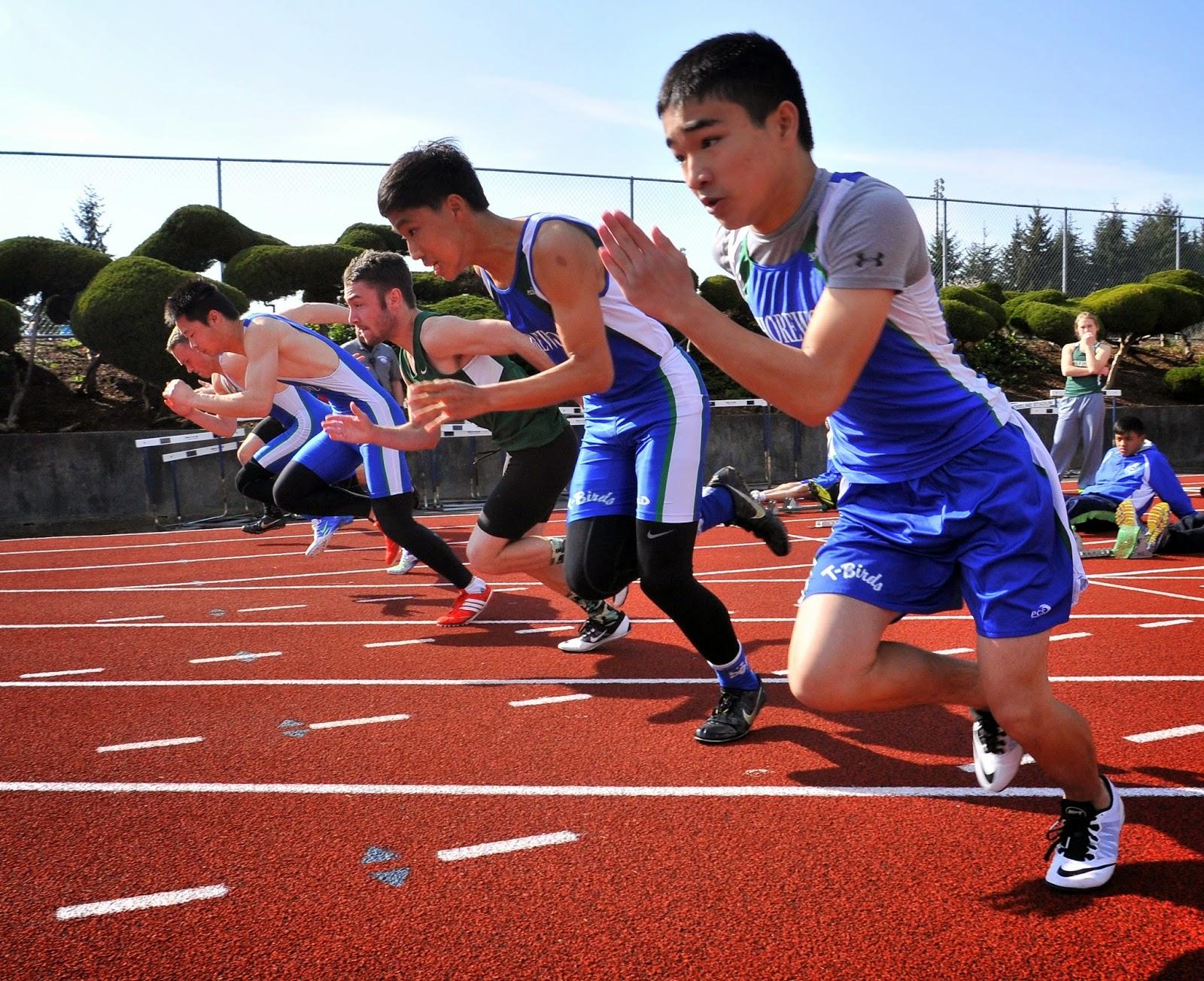 shoreline stadium track meet clipart