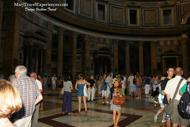 Pantheon Rome Interior