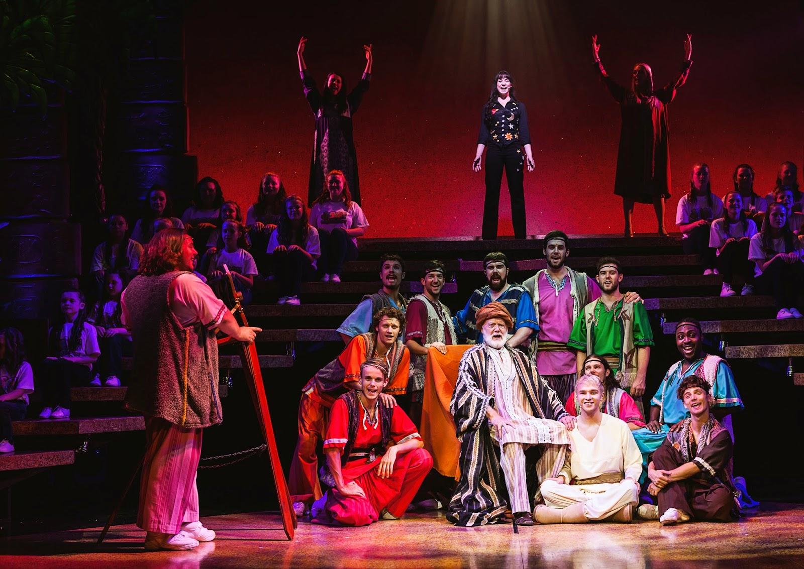 Joseph and the amazing technicolor dreamcoat starring lloyd daniels