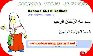 Membaca Dan Memahami Arti Surat Al Fatihah