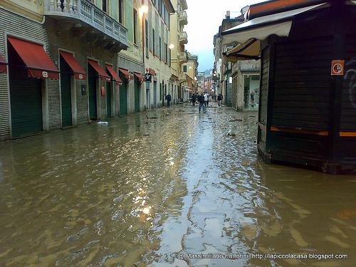 Genoa Flood Pictures