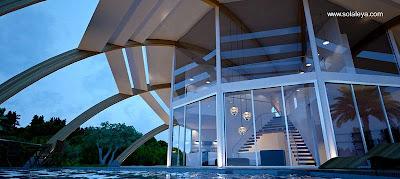 Casa domo pasiva sustentable