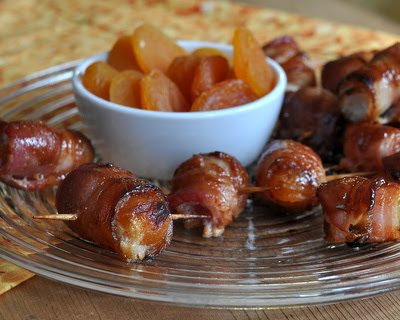Bacon-Wrapped Apricots