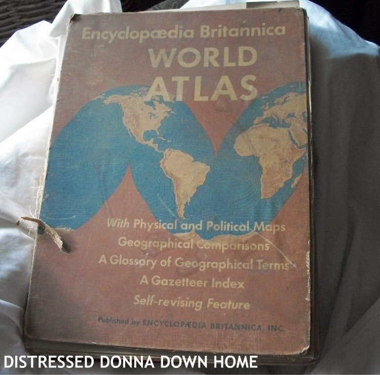 1942 world atlas