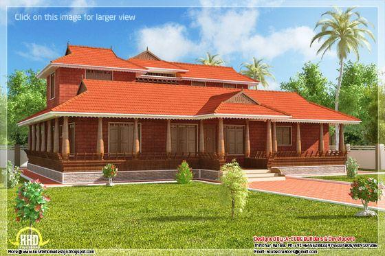 Kerala illam traditional house