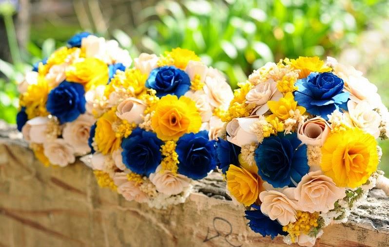 decoracao azul royal e amarelo casamento:BLOG DA TOP: Inspiração Lojinha – Azul e Amarelo, que tal?