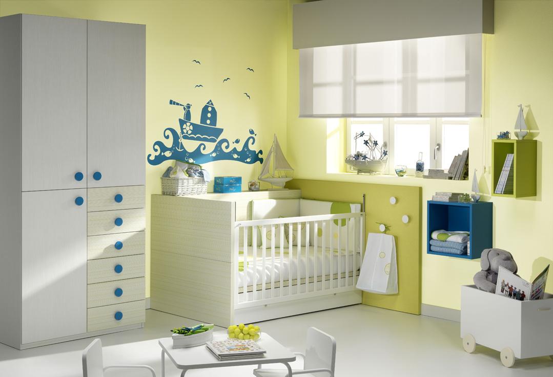 Muebles ros la organizaci n de la habitaci n del beb - Dormitorios de bebes recien nacidos ...