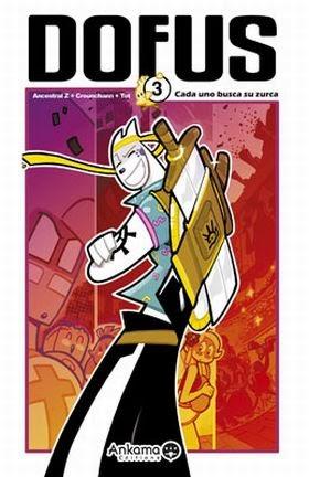 Dofus 3,Tot, Ancestral Z , Counchann,Norma Editorial  tienda de comics en México distrito federal, venta de comics en México df