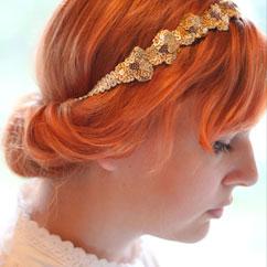 Vintage Headband DIY