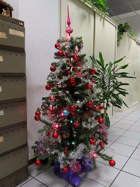 Office Christmas tree, Livorno