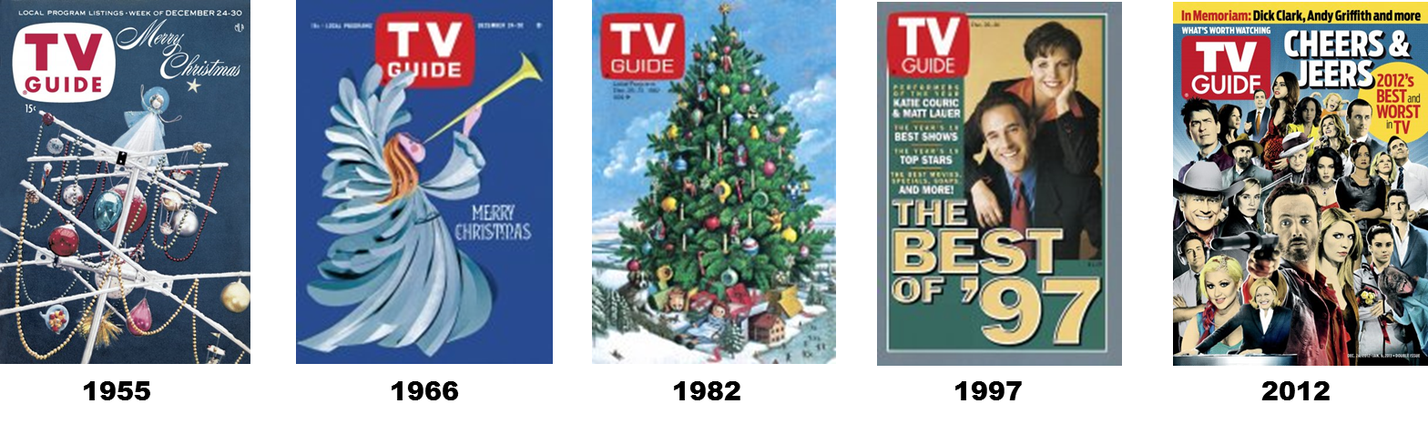 It 39 s about tv this week in tv guide december 21 1963 for Christmas movies on cable tv tonight