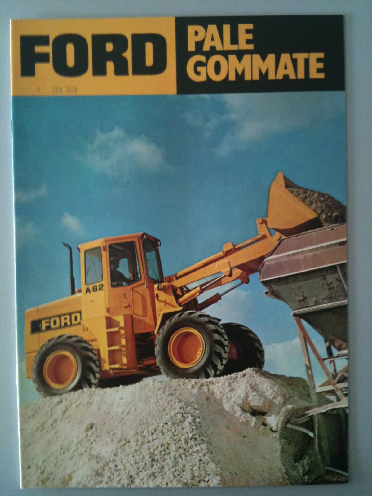 Machinery sales brochures ford wheel loader a62 a64 a66 356