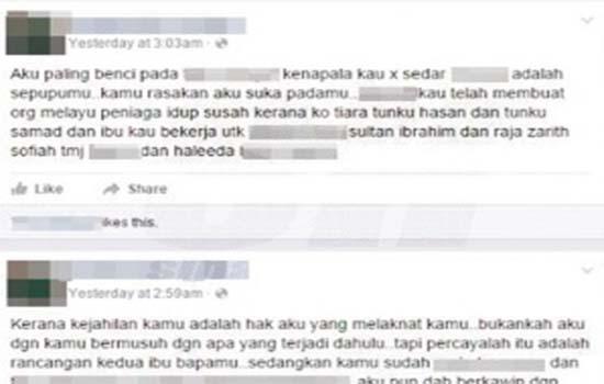 Lelaki mengaku nabi dan ALLAH, hina kerabat Diraja Johor