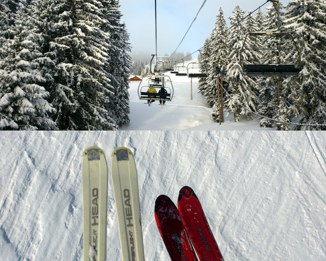 Esquí en Los Alpes