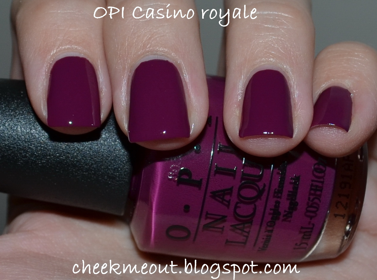OPI Skyfall James Bond collection - Casino royale - My Beauty Galleria