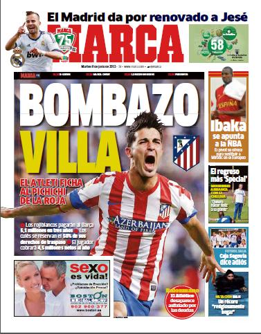 diario and marca: