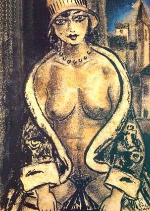 pintura de nu