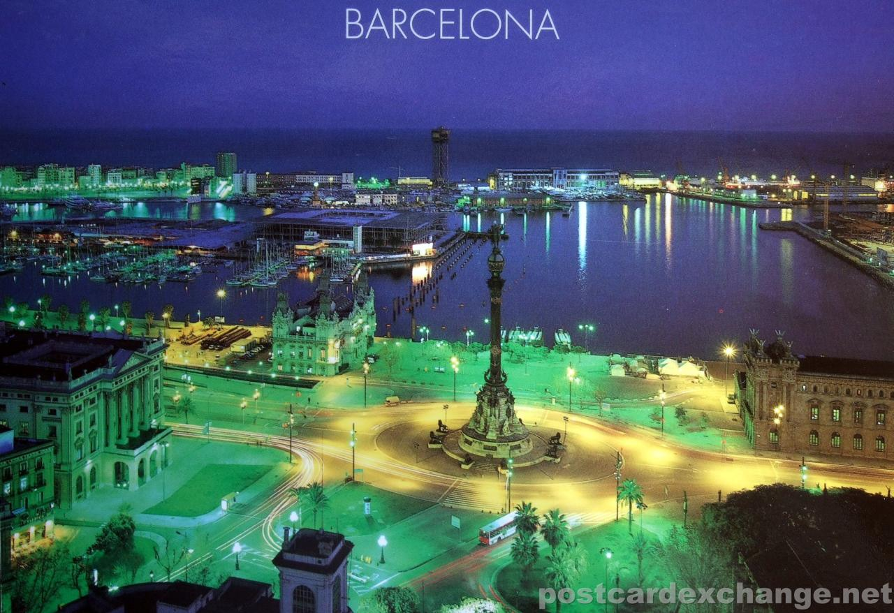 Where is Barcelona in which country 68