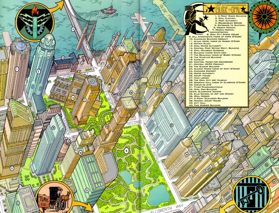 Siskoid\'s Blog of Geekery: Atlas of the DC Universe Extras: More Places