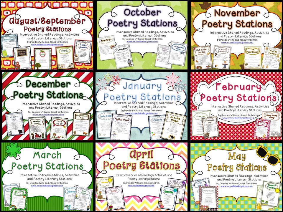 Poetry Station and Shared Reading