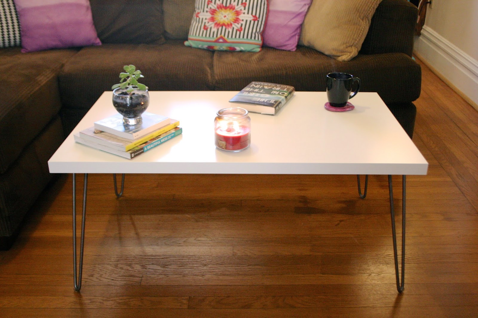 Cute Coffee Table Hairpin Leg Coffee Table The Surznick Common Room