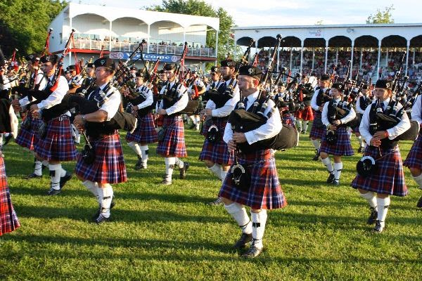 Glengarry Pipe Band at Maxville, ON