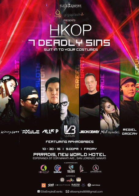 HKOP 7 Deadly Sin - Elite Empire Events
