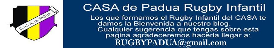 CASA de Padua Rugby Infantil