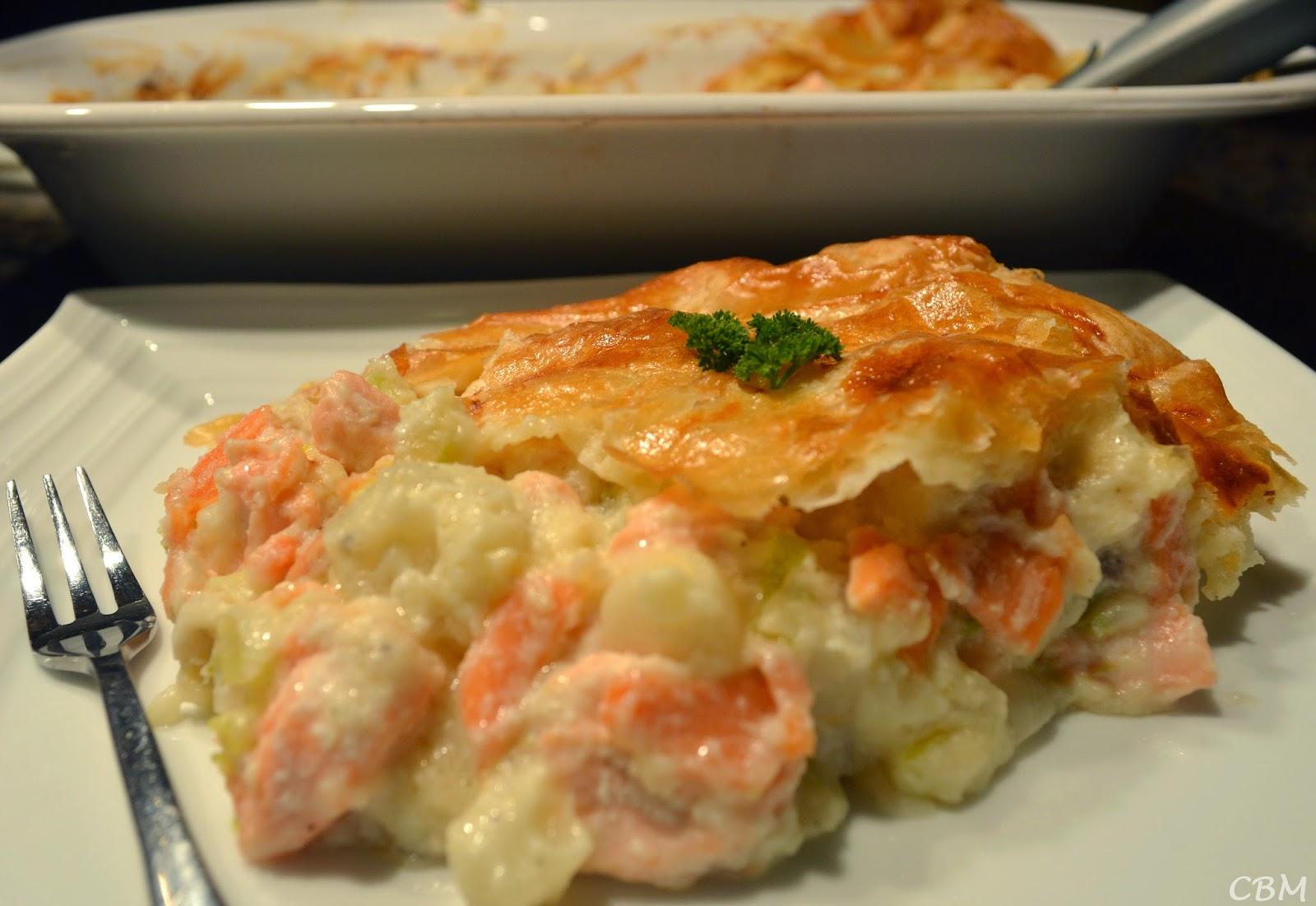 Dans la cuisine de blanc manger p t au saumon frais style pot en pot - Comment cuisiner du saumon surgele ...