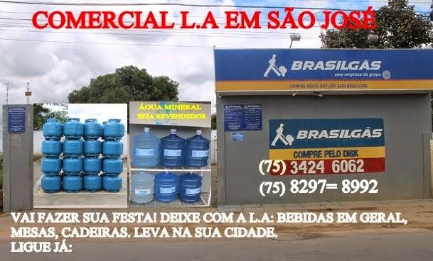 COMERCIAL L.A EM SÃO JOSÉ, VAI FAZER SUA FESTA DEIXE COM A L.A