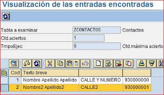 Browser SE16N