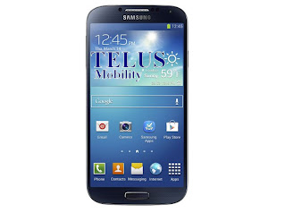 Telus Mobility prices for Samsung Galaxy S4