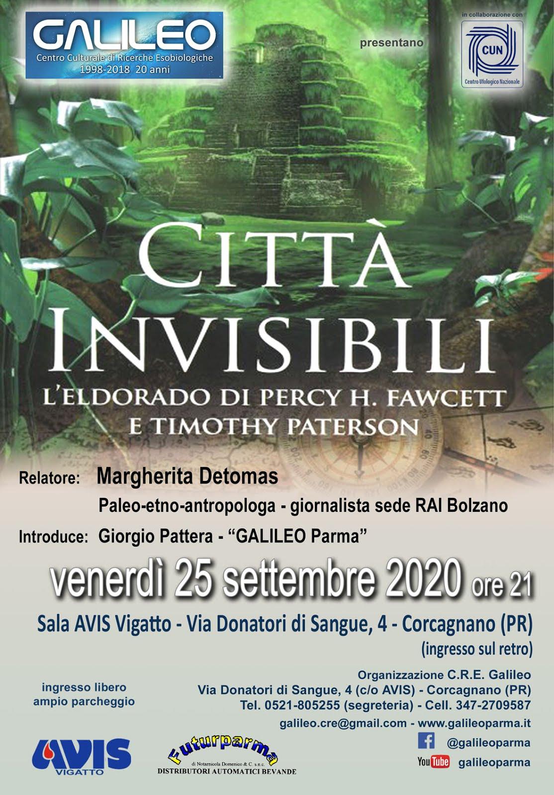 CITTA' INVISIBILI: L'ELDORADO DI PERCY FAWCETT E TIMOTHY PATERSON