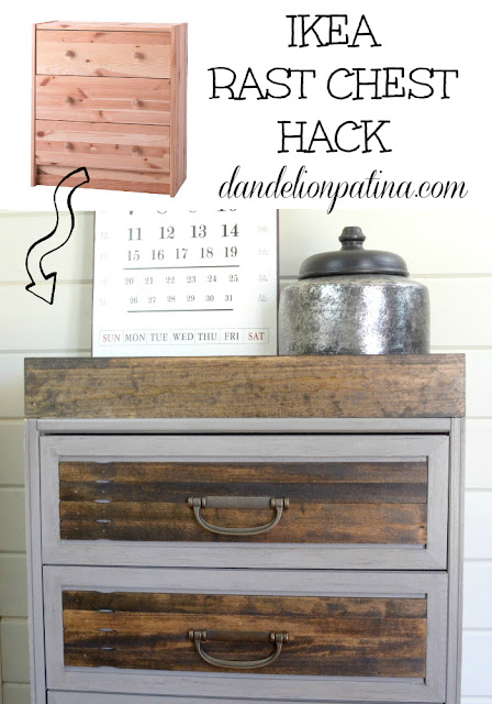 Dandelion Patina-Ikea Dresser Hack-Treasure Hunt Thursday- Blog Link Up Party- From My Front Porch To Yours
